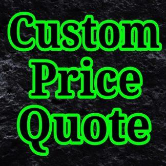 custom price quote